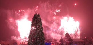 Phantasialand Wintertraum Feuerwerk - The Magic Rose