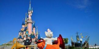 Frühlingsanfang im Disneyland Paris