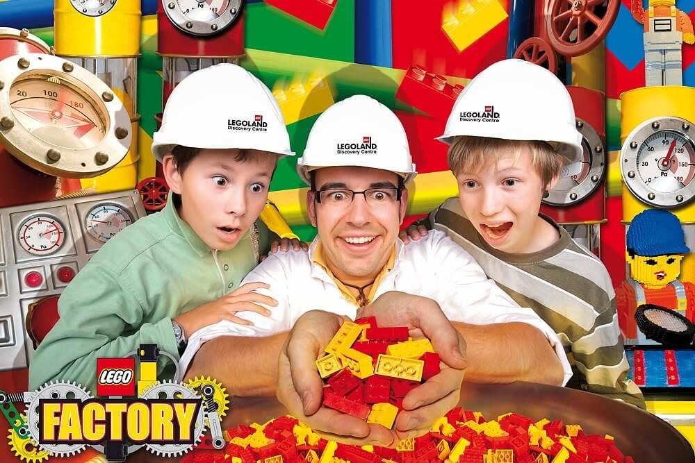 Lego Factory im Legoland Discovery Centre