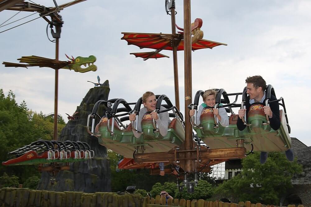 Eröffnung Drachenzähmen - Die Insel im Heide Park Resort