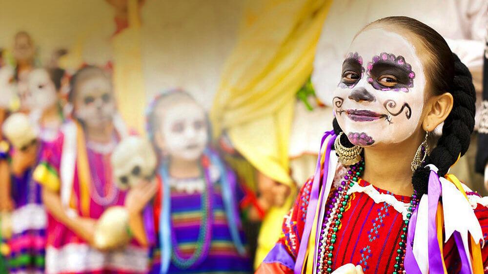 Halloween auf Mexikanisch im Burgers Zoo