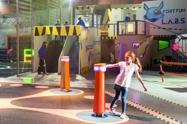 Fort-Fun eröffnet Indoor-Erlebniswelt L.A.B.S.