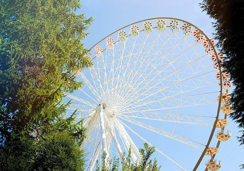 Riesenrad Big Wheel im Fort Fun Abenteuerland