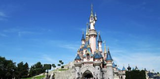 Märchenschloss Sleeping Beauty Castle im Disneyland Paris