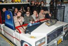 Probefahrt der Heide Park Neuheit 2017 Ghostbusters 5D