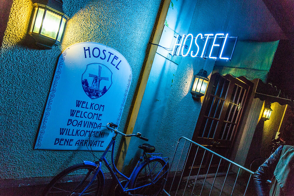 Horror-Maze Hostel im Movie Park Germany