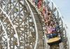 Holz-Achterbahn Troy im Freizeitpark Toverland