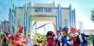 Movie Park Germany freut sich über 30 millionsten Besucher (Quelle: Movie Park Germany)