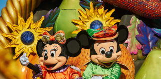 Halloween mit Mickey und Minnie im Disneyland Paris