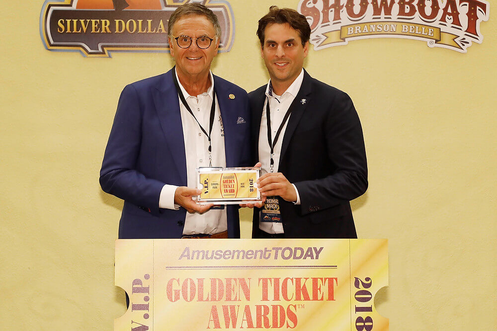 Europa-Park - Golden Ticket Awards 2018