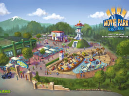 "Paw Patrol Themenbereich ""Adventure Bay"" im Movie Park Germany"