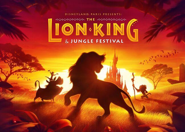 Disneyland Paris verkündet neue Sommersaison: Das König der Löwen- und Dschungel- Festival