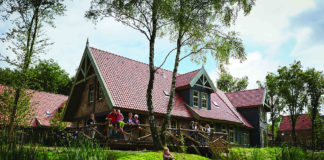 Ferienpark Efteling Bosrijk - Ferienhaus am Wasser