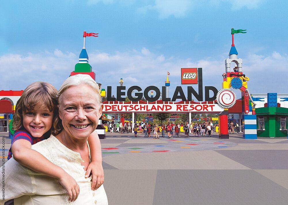 Aktion Dankeschön, Oma und Opa! im Legoland Deutschland