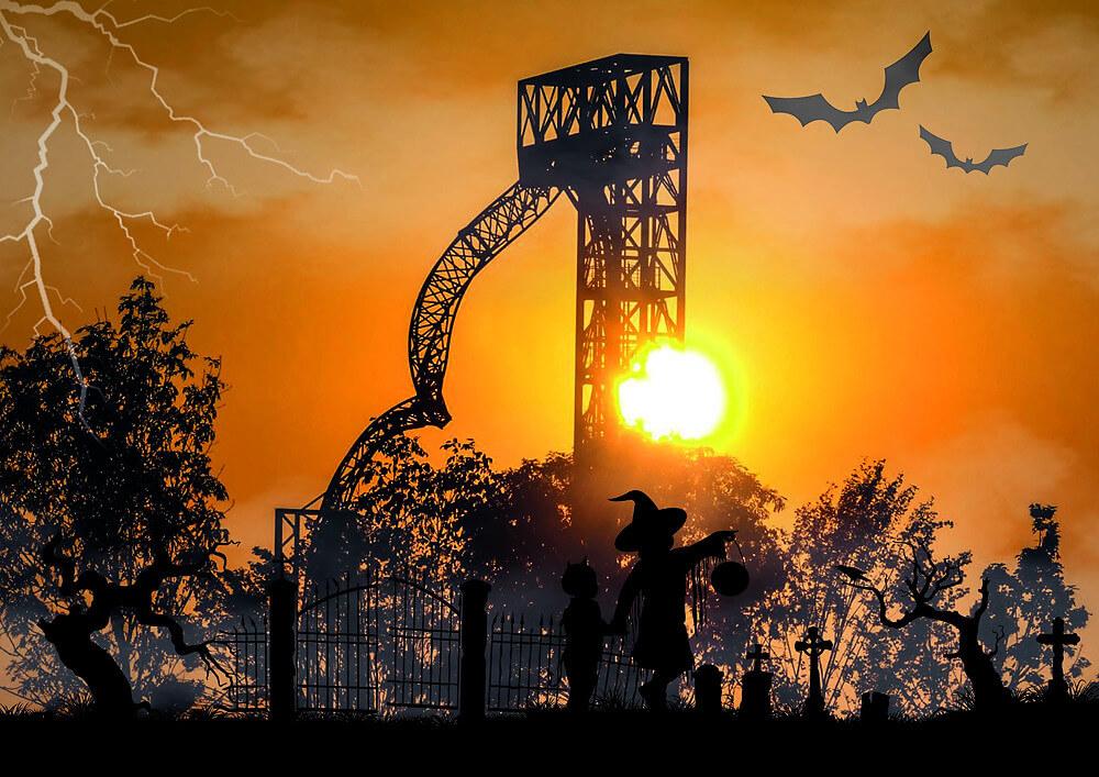 Halloween im Allgäu Sykline Park