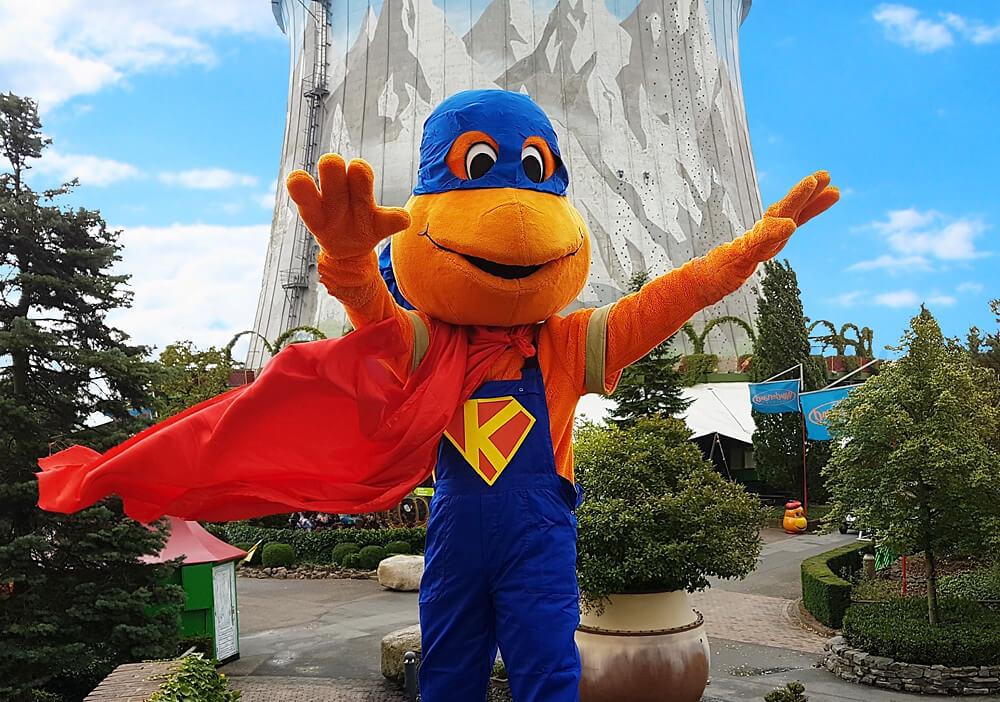 Superheldentag in Kernie's Familienpark