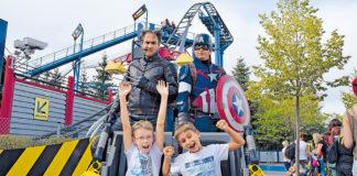 Movie Heroes Event im Legoland Deutschland