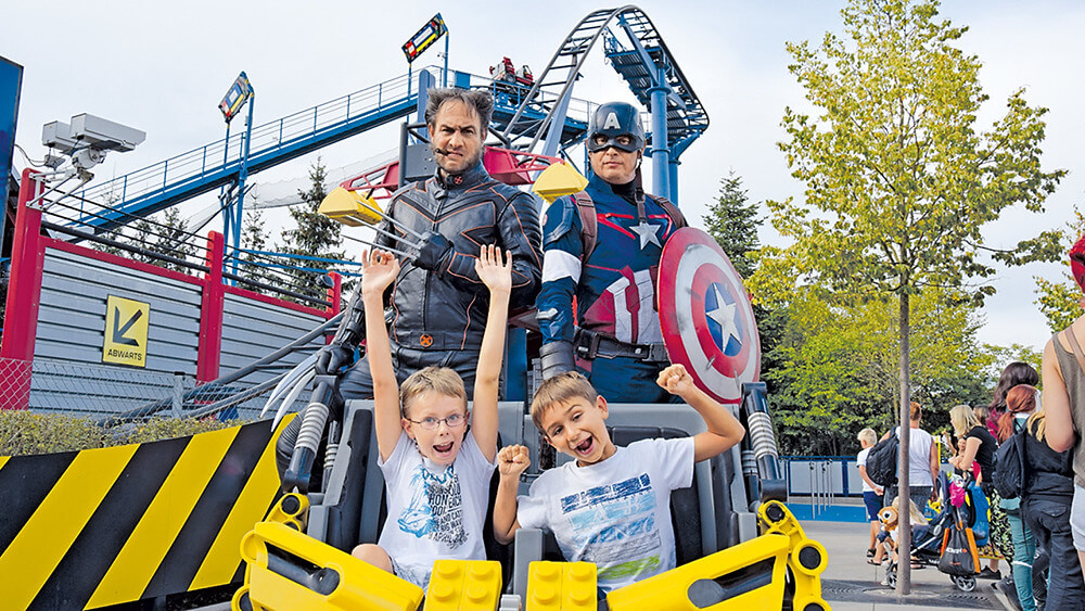 Movie Heroes Event im Legoland Deutschland