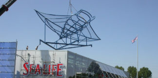 SEA LIFE Oberhausen - Startschuss des Baus in 2004