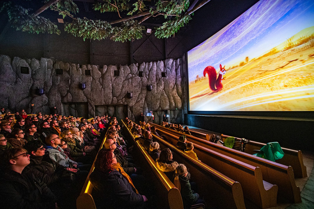 4D-Kino Fabula im Freizeitpark Efteling